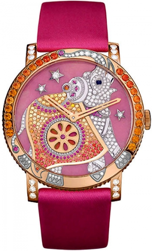 Boucheron Crazy Jungle Hathi Elephant Ladies Watch
