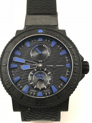 UN Diver Black Sea 45,8mm Ref.263-92-3C/923