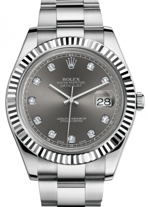 ROLEX DATEJUST II DIAMONDS Ref.116334