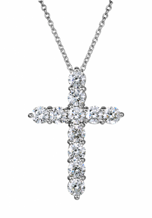 Крест GRAFF на цепи CROSS PENDANT MEDIUM MODEL Ref.RGP MM