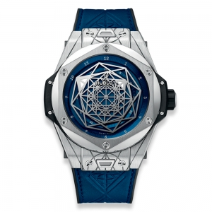 Hublot Big Bang One Click Sang Bleu Steel Blue Diamonds