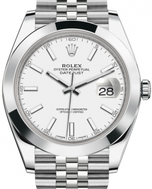 Часы ROLEX Steel Smooth Bezel Jubilee Ref.126300-0006
