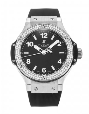 Часы Hublot Big Bang Steel Diamonds