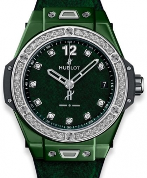 Hublot Big Bang One Click Italia Independent Dark Green Velvet