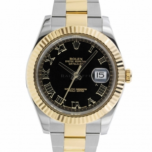 Rolex Datejust 2 Black Roman 116333