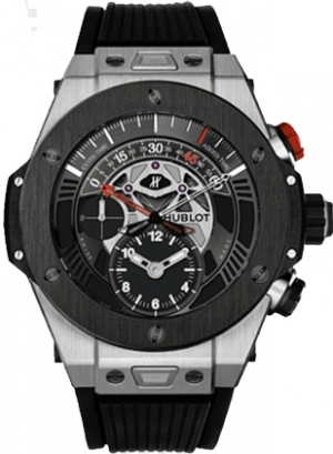 Hublot Big Bang Bi Retrograde Chrono-Titanium ceramic Ref.413.NM.1127.RX