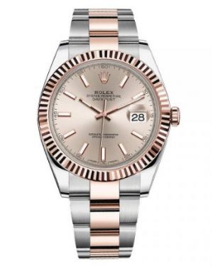 ROLEX DATEJUST 41 EVEROSE ROLESOR