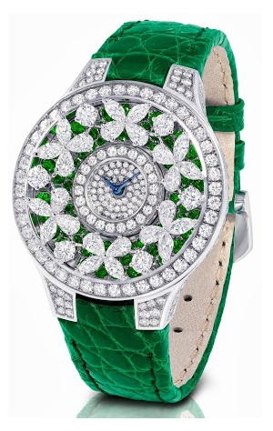 Graff Butterfly Emeralds Green