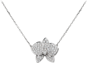 Подвеска Cartier Caresse d'Orchidées par Cartier Necklace MM Ref.B7015300