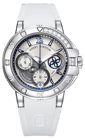Harry Winston Ocean Sport Ladies Chronograph Ref.OCSACH38ZZ006