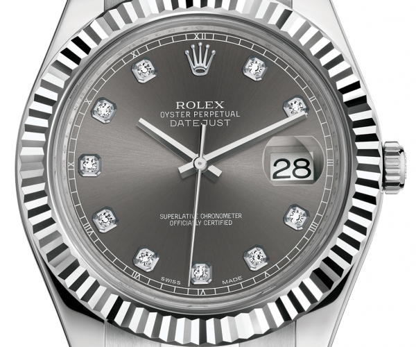 ROLEX DATEJUST II DIAMONDS