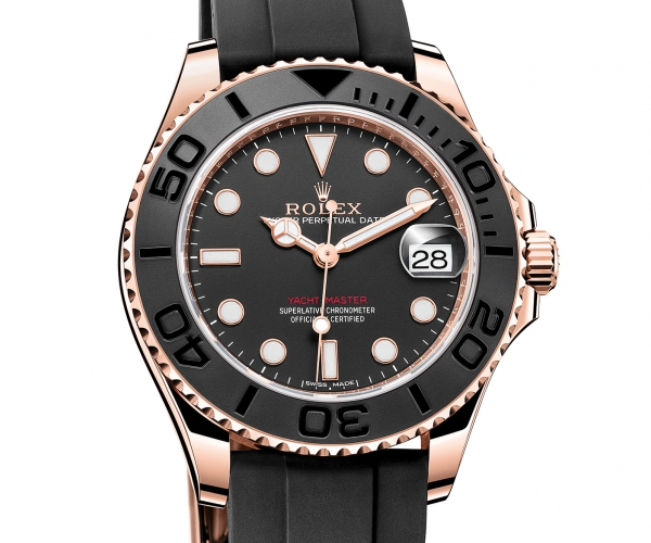 Rolex Yachtmaster Rose Gold 40 mm Ref.116655