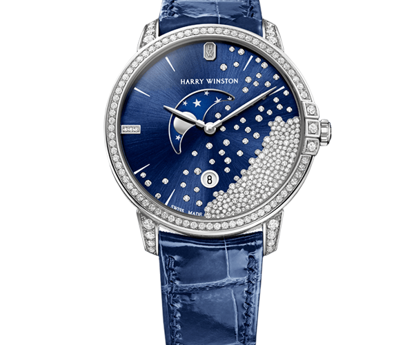 Harry Winston Midnight Collection Ref.MIDQMP39WW004