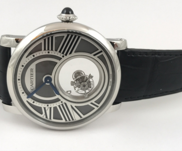 Часы Cartier Rotonde Mysterious Double Tourbillon