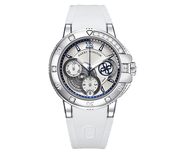 Harry Winston Ocean Sport Ladies Chronograph