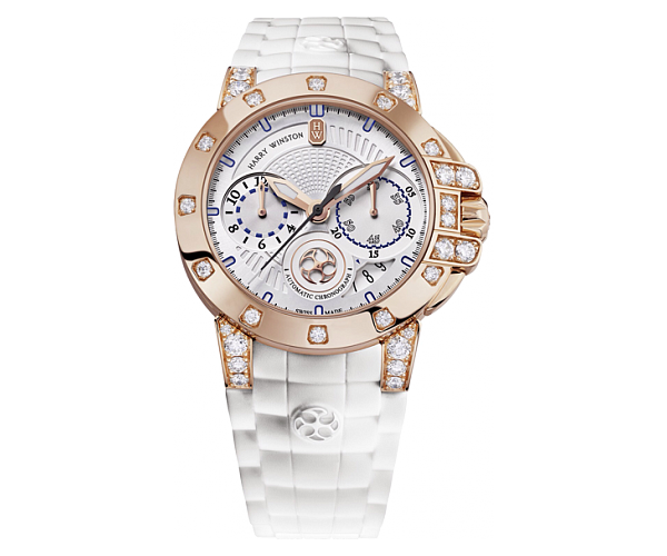 Harry Winston Ocean Lady Chronograph Ref.OCEACH36RR001