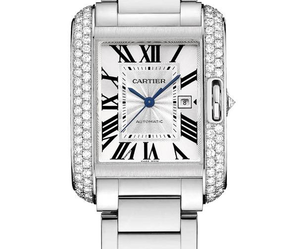 Cartier Tank Anglaise Watch Ref.WT100009