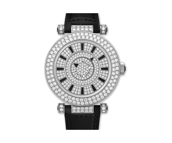 Franсk Muller  Double Mystery Ronde Black Onyx
