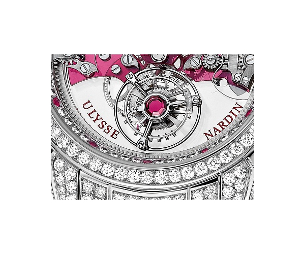 UN Exceptional Royal Ruby Tourbillon Baguettes Ref.799-88BAG-8F