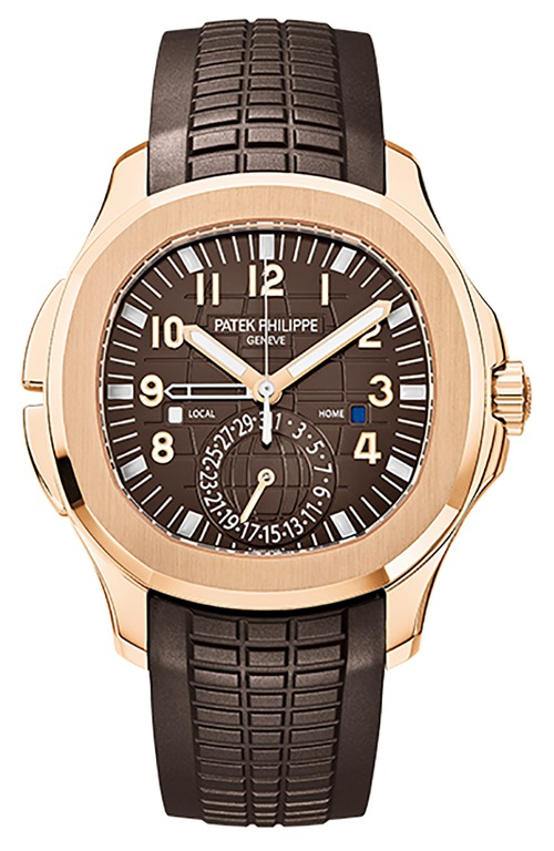 PATEK PHILIPPE AQUANAUT TRAVEL TIME ROSE