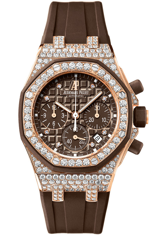 AUDEMARS PIGUET ROYAL OAK OFFSHORE CHRONOGRAPH LADIES